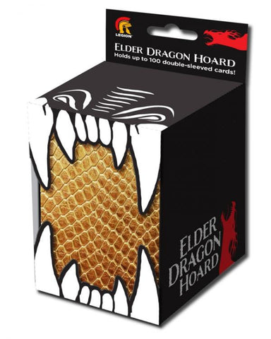 Legion Deck Box: Elder Dragon Hoard (Gold)