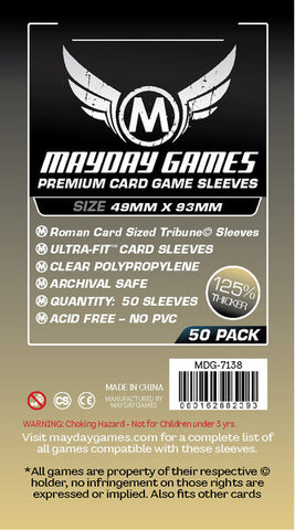 Mayday - Tribune Card Sleeves (49x93mm)