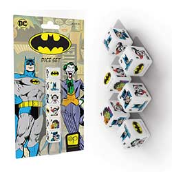 Batman 6PC Dice Set