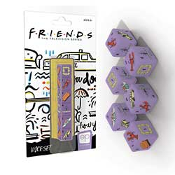 Friends 6PC Dice Set
