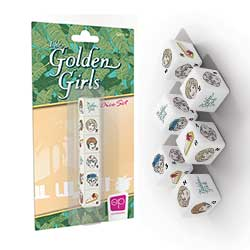 Golden Girls 6PC Dice Set