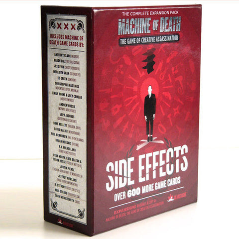 Machine of Death: The Game of Creative Assassination – Side Effects