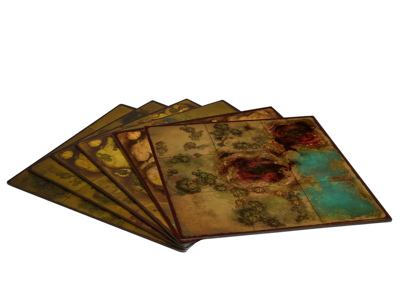 Golem Arcana Map Tiles 3: Marshes of Kesh