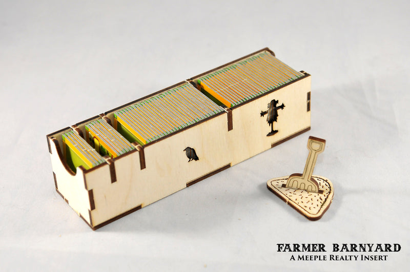 Meeple Realty - Farmer's Barnyard (Compatible with Agricola All Creatures)
