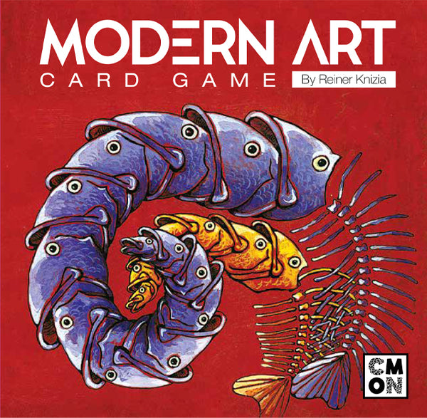 Modern Art: Card Game (CMON Edition)