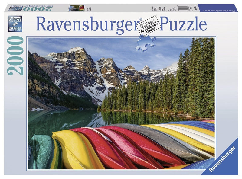 Puzzle - Mountain Canoes 2000-Piece