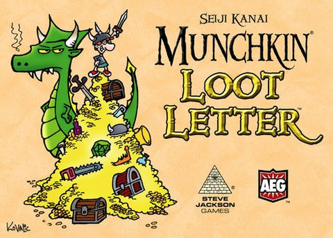 Munchkin Loot Letter Clamshell Edition