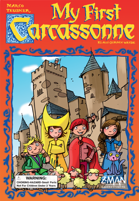 My First Carcassonne (First Edition)