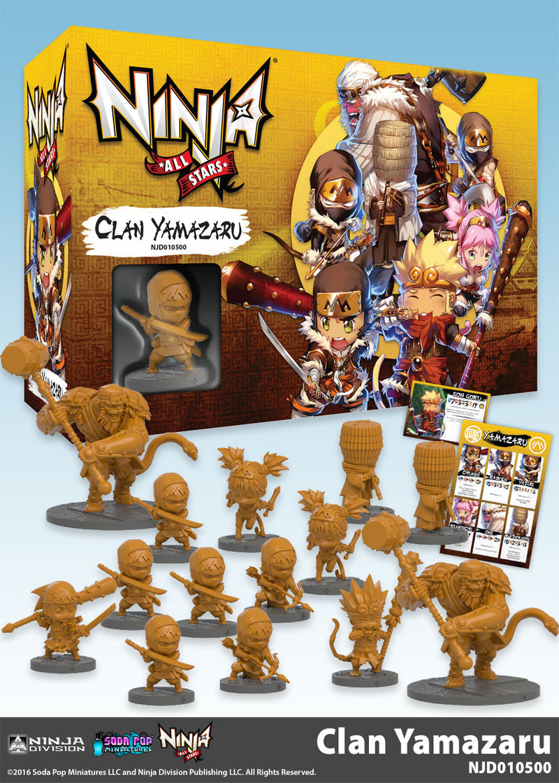 Ninja All-Stars: Clan Yamazaru