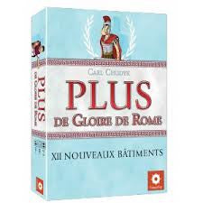 PLUS de Gloire de Rome: XII Nouveaux bâtiments (aka Glory to Rome: Republic Expansion) (French)