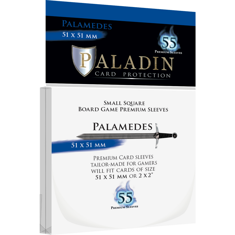 Paladin Card Protection: Palamedes (51 × 51 mm)