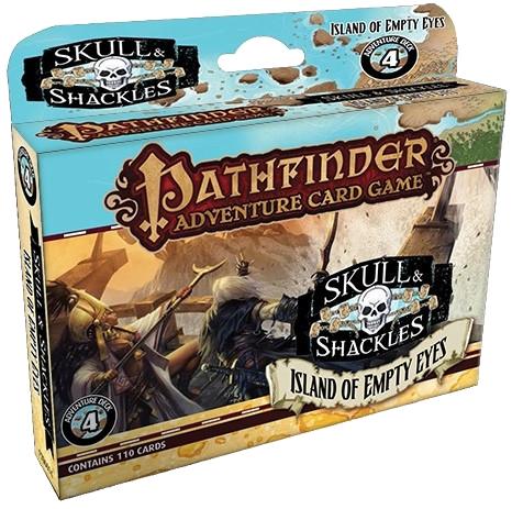 Pathfinder Adventure Card Game: Skull & Shackles - Island of Empty Eyes Adventure Deck