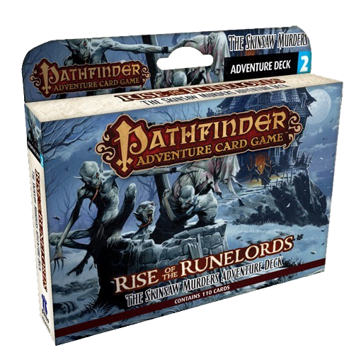 Pathfinder Adventure Card Game: Rise of the Runelords - The Skinsaw Murders Adventure Deck