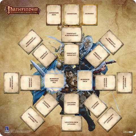 "Pathfinder Adventure Card Game 24"" x 24"" Play Mat"