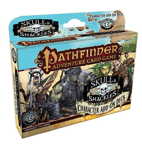 Pathfinder Adventure Card Game: Skull & Shackles – Character Add-On Deck
