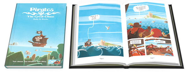 Graphic Novel Adventures - Pirates: The Great Chase (Book)