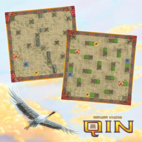 Qin: Toad and Dragon Turtle Game Boards