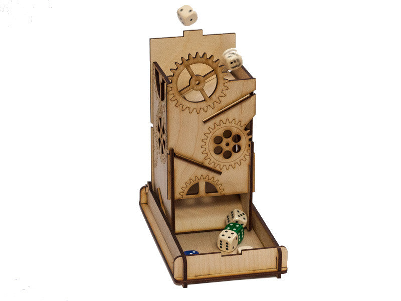 Dice Towers: Dice Tower - Steam Punk Box