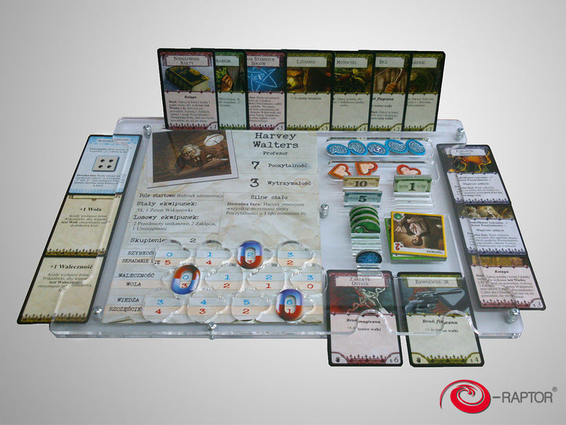 E-Raptor - Organizer compatible with Arkham Horror