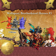 Rum & Bones: Wellsport Brotherhood Hero Set # 1