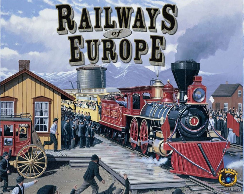 Railways of Europe (2017 Edition) *PRE-ORDER*
