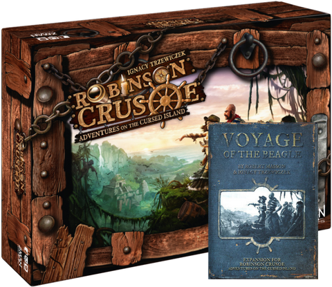 Robinson Crusoe Bundle - (Base Game + Voyage of the Beagle Vol. 1)