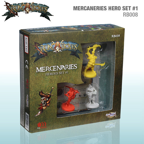 Rum & Bones: Mercenaries Heroes Set