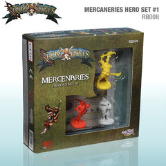 Rum & Bones: Mercenaries Heroes Set #1