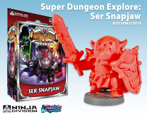 Super Dungeon Explore: Ser Snapiaw