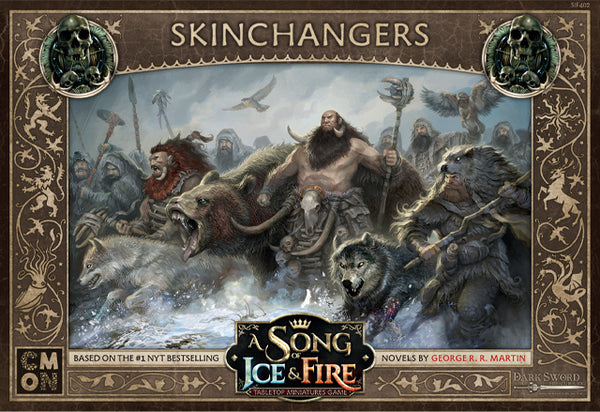 A Song of Ice & Fire: Tabletop Miniatures Game - Free Folk SkinChangers