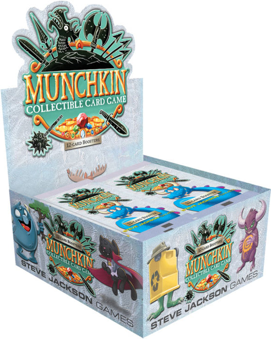 Munchkin Collectible Card Game: Booster Box