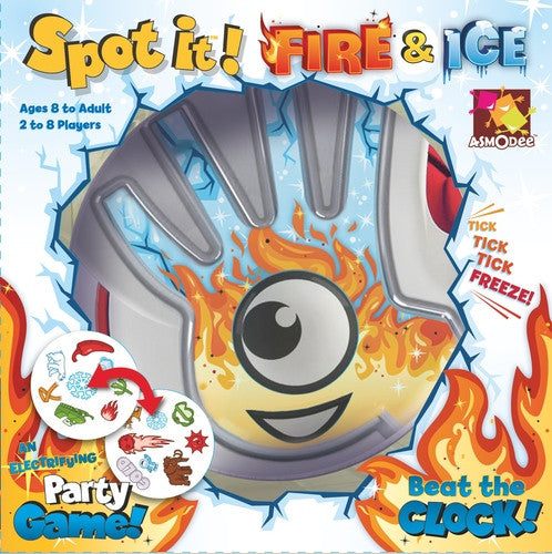 Asmodee Spot It Fire And Ice Spiele