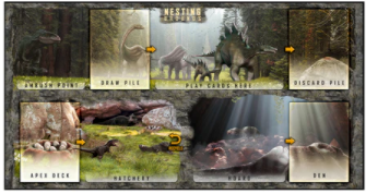 APEX Theropod: Nesting Grounds Mat (2-pack)