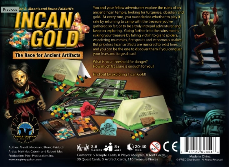 Incan Gold (New Edition)