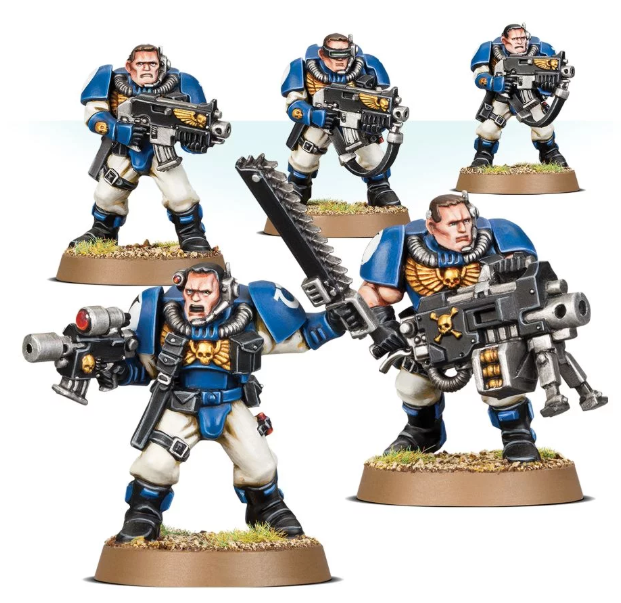 Games Workshop - Space Marines Scouts