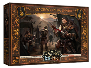 A Song of Ice & Fire: Tabletop Miniatures Game - Neutral Stormcrow Mercenaries Expansion