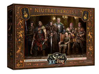 A Song of Ice & Fire: Tabletop Miniatures Game - Neutral Heroes II
