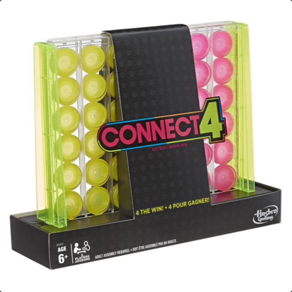 Connect 4 - Neon Pop