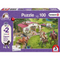 Puzzle - Schmidt Spiele - Schleich Horse Ride into the Countryside (100 Pieces)