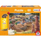 Puzzle - Schmidt Spiele - Schleich At the Watering Hole (60 Pieces)