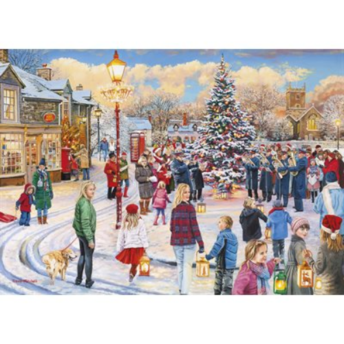 Puzzle - Gibsons - Christmas Chorus (1000 Pieces)