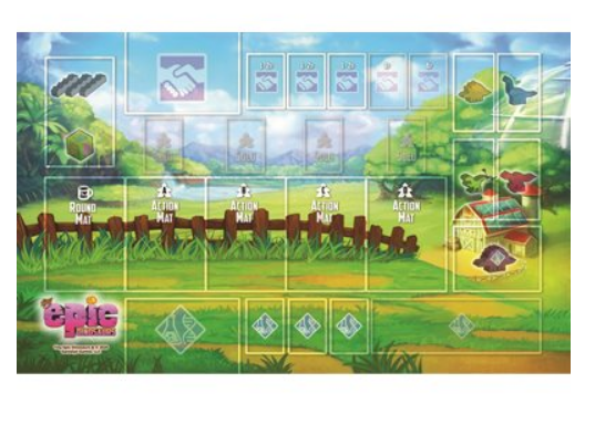 Tiny Epic Dinosaurs - Playmat