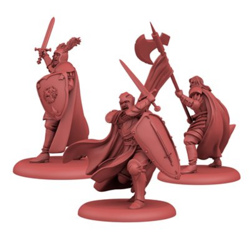 A Song of Ice & Fire: Tabletop Miniatures Game – Lannister Attachments I