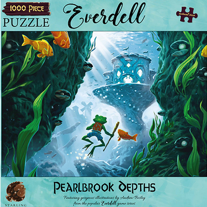 Puzzle - Starling Games - Everdell Puzzle: Pearlbrook Depths (1000 Pieces)