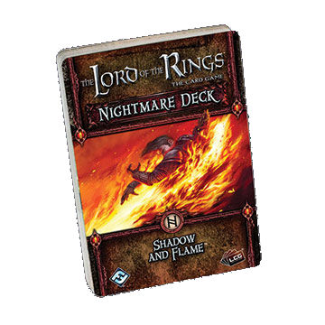The Lord of the Rings: The Card Game - Nightmare Deck: Shadow and Flame