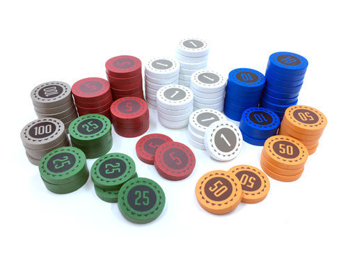 100-Piece Small Set of Money Discs
