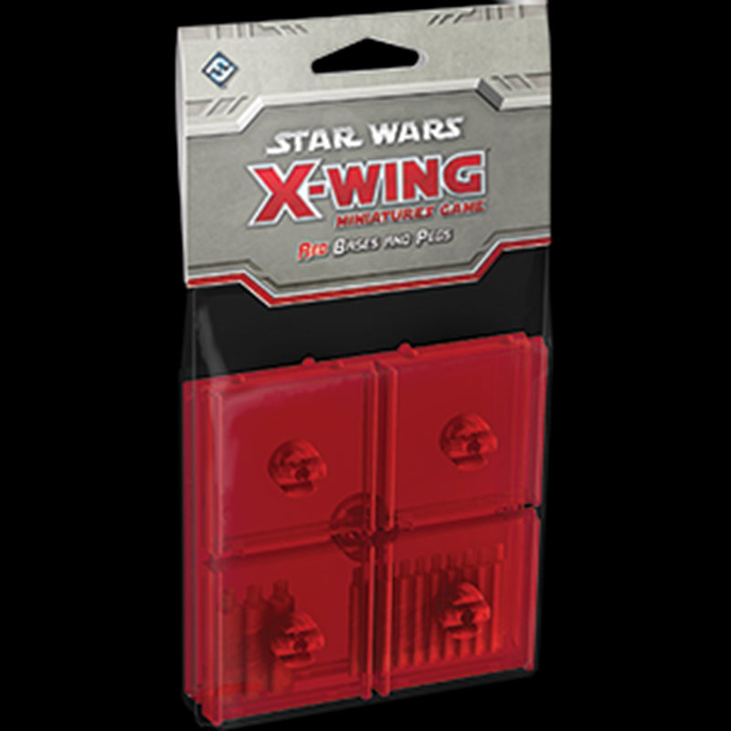 Star Wars: X-Wing: Red Bases And Pegs