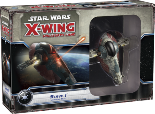 Star Wars: X-Wing Miniatures Game - Slave I Expansion Pack (French)