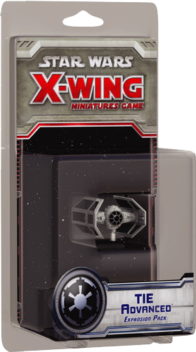 Star Wars: X-Wing Miniatures Game - TIE Advanced Expansion Pack (French)