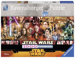 Puzzle - Star Wars Legends 1000-Piece Panorama